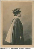 Figure 1. Dr Phoebe Chappel, Graduation photograph (courtesy of the State Library of South Australia).