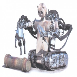 Figure 2. Battlefield Extraction Assist Robot (Source: http://www.vecna.com/innovation/bear  accessed 6 August 2013)