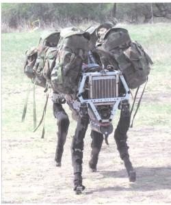 Figure 4. BigDog Robot image courtesy of Boston Dynamics