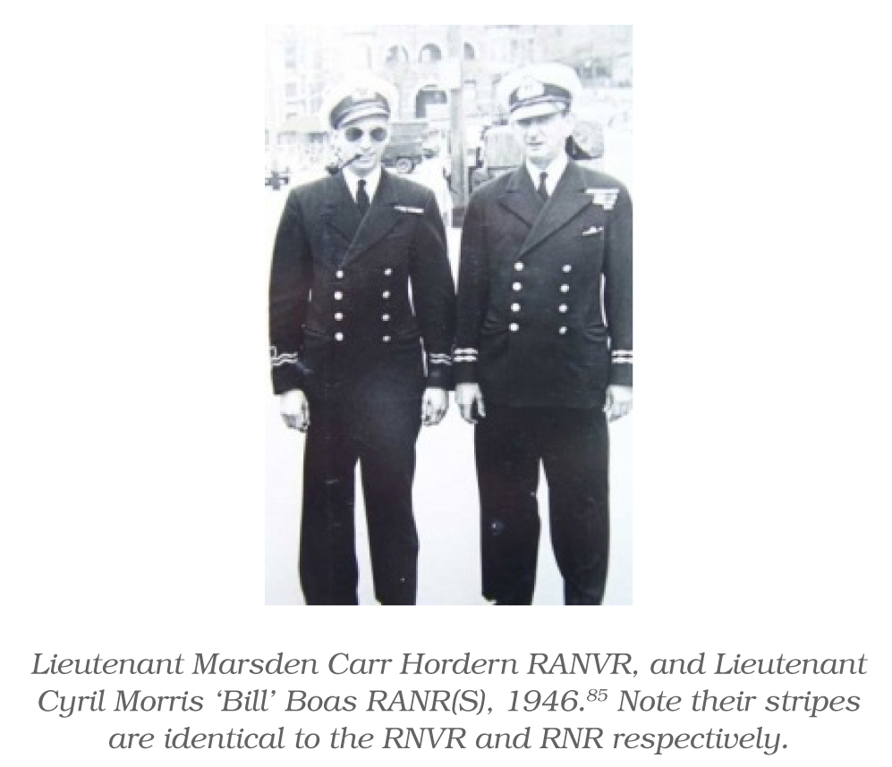 A History of Australian Navy Health Officer Uniforms and